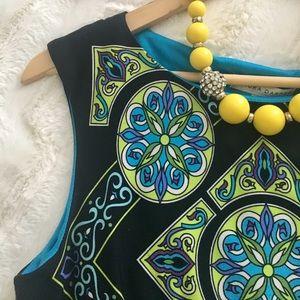 Sandra D Printed Dress
